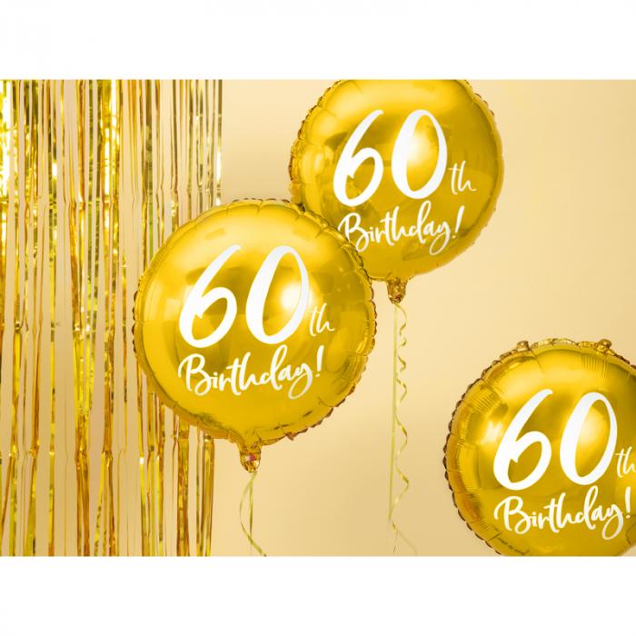 Balon Folie 60 ani - 45 cm 1