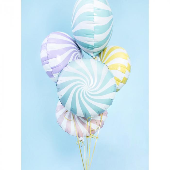 Balon Folie Acadea, Albastru - 45 cm 2