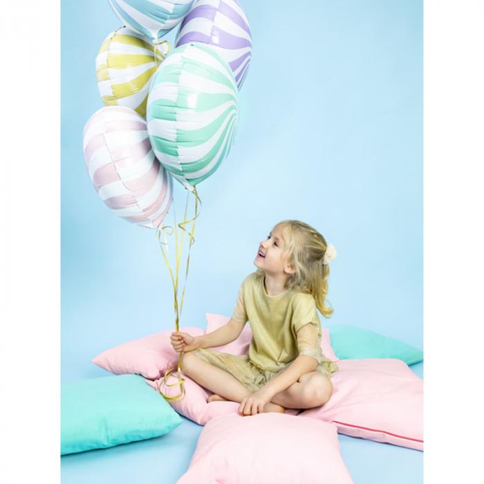 Balon Folie Acadea, Albastru - 45 cm 3