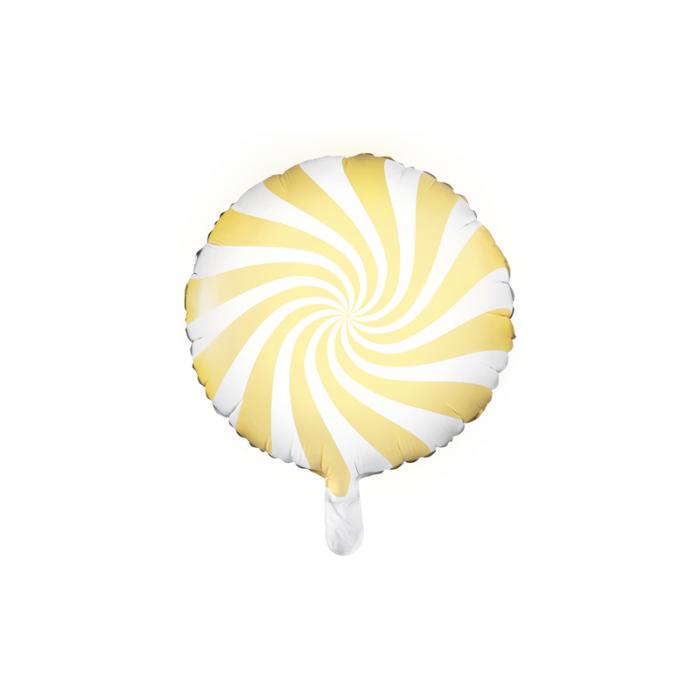 Balon Folie Acadea, Galben - 45 cm 0