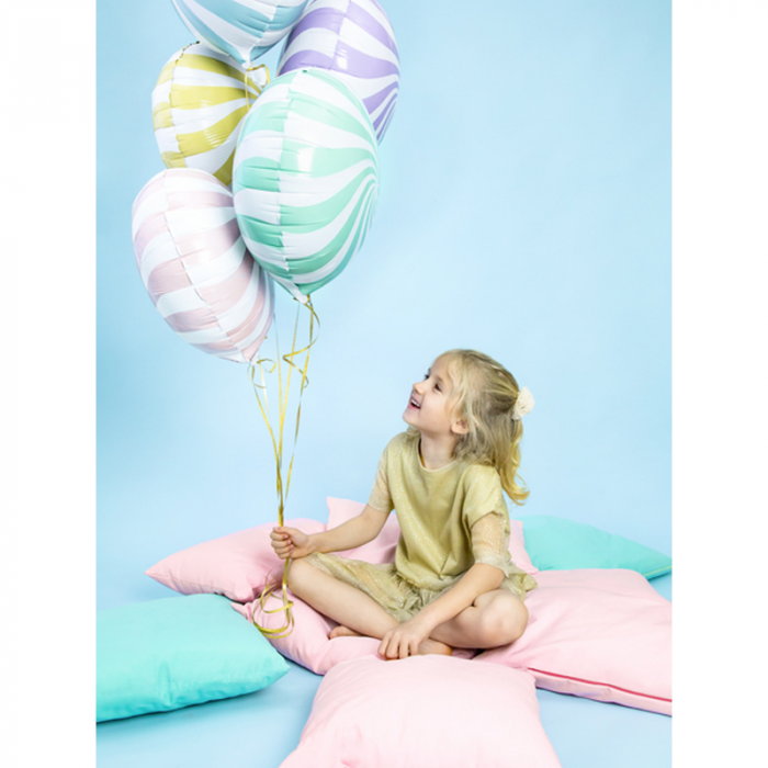 Balon Folie Acadea, Galben - 45 cm 3