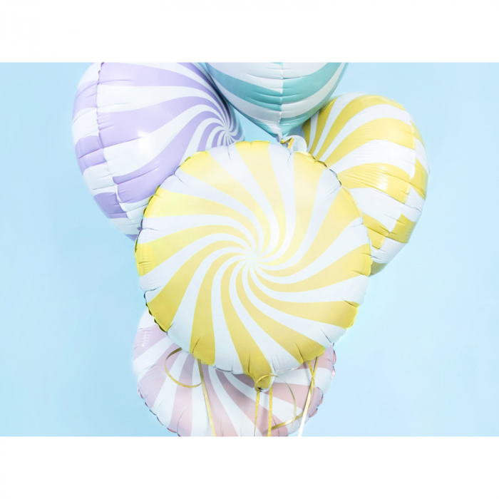 Balon Folie Acadea, Galben - 45 cm 1