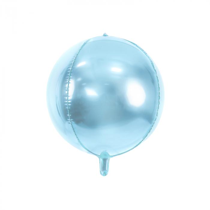 Balon Folie Albastru Deschis - 40 cm 0