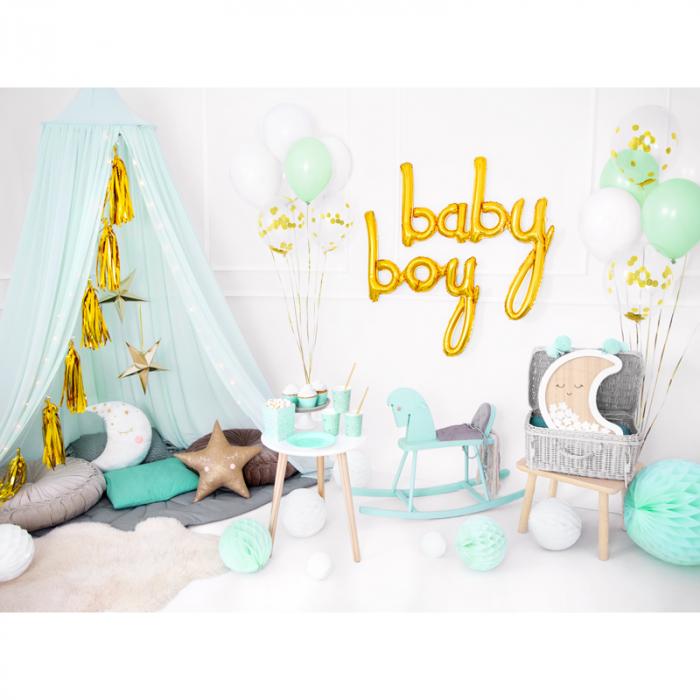 Balon Folie Baby, Auriu - 73.5 x 75.5 cm 3