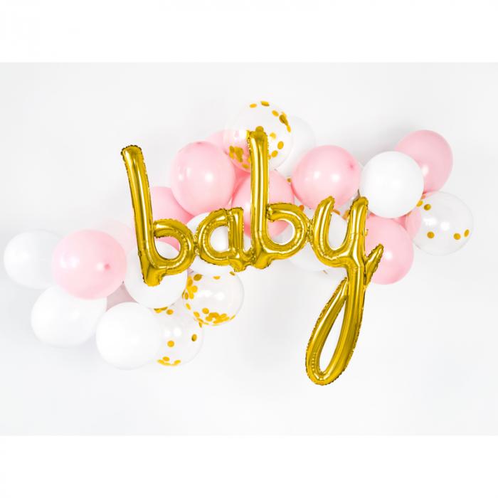 Balon Folie Baby, Auriu - 73.5 x 75.5 cm 1