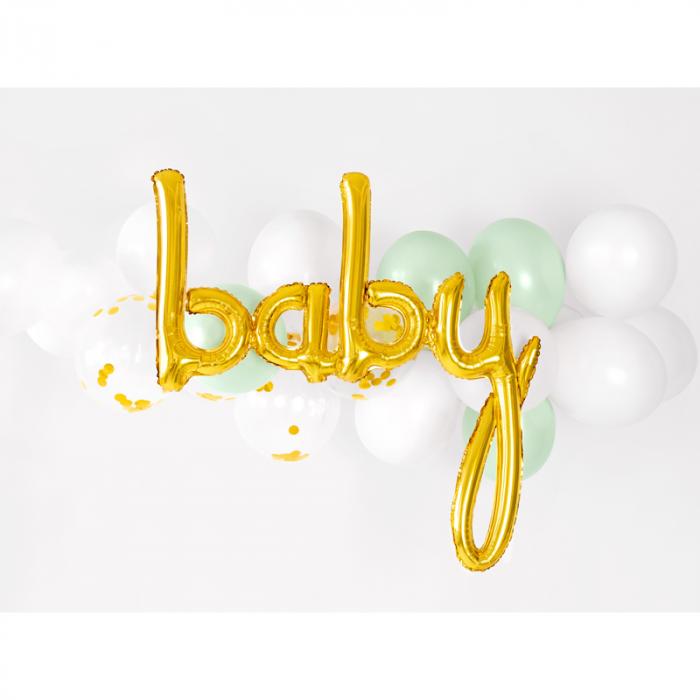 Balon Folie Baby, Auriu - 73.5 x 75.5 cm 2