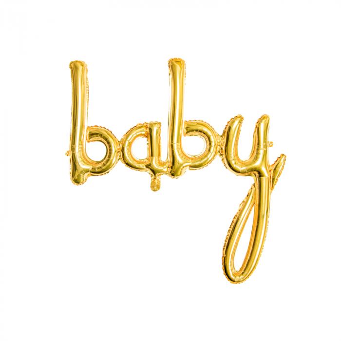 Balon Folie Baby, Auriu - 73.5 x 75.5 cm 0