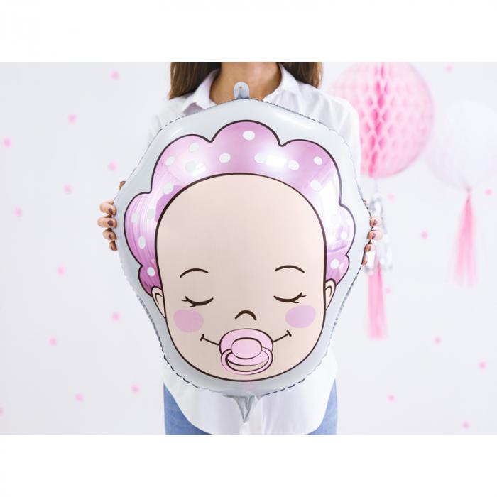Balon Folie Baby Girl, 40x45cm 1