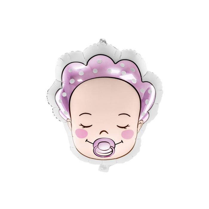 Balon Folie Baby Girl, 40x45cm 0