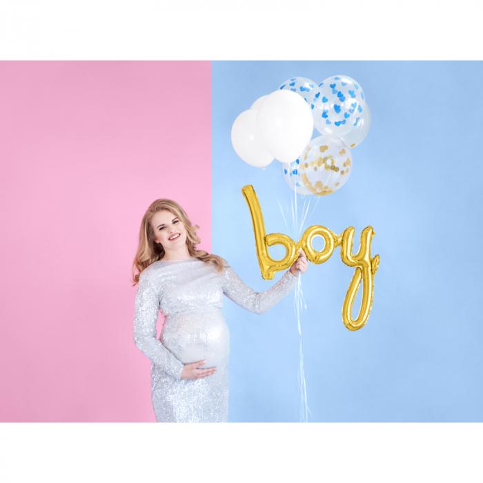 Balon Folie Boy, Auriu - 74 cm [1]