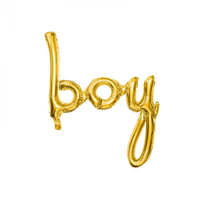 Balon Folie Boy, Auriu - 74 cm [0]