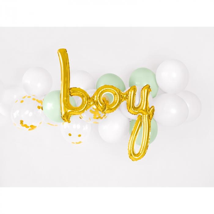 Balon Folie Boy, Auriu - 74 cm [2]