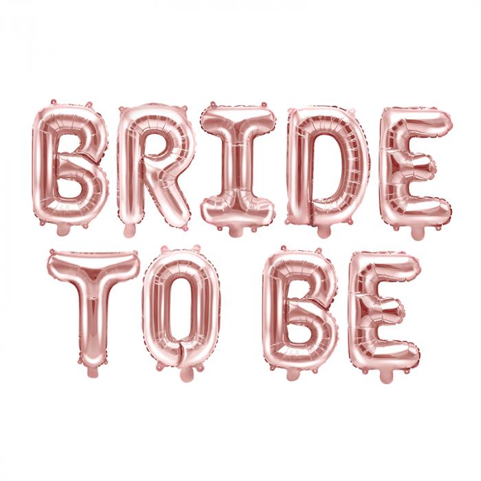 Balon Folie Bride To Be - 340x35 cm 0