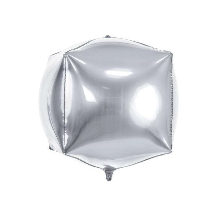Balon Folie Cub, Argintiu - 35 cm 0