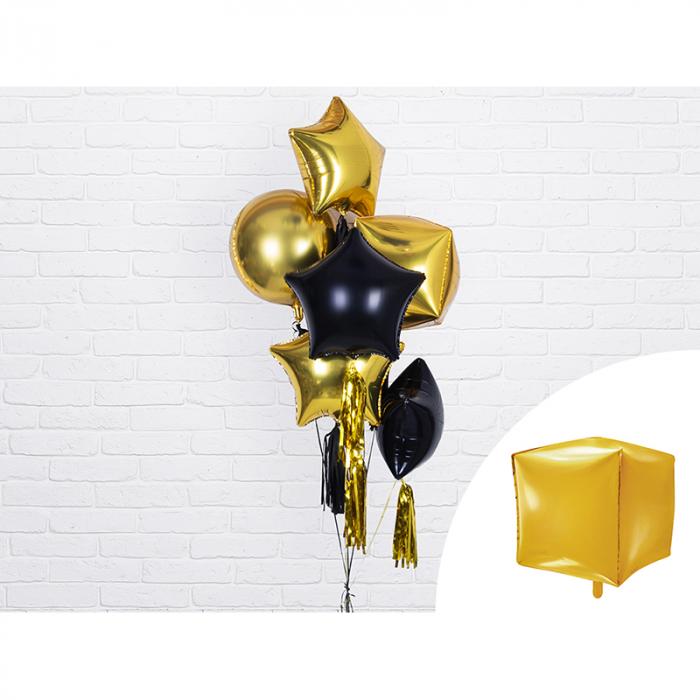 Balon Folie Cub, Auriu - 35 cm 1