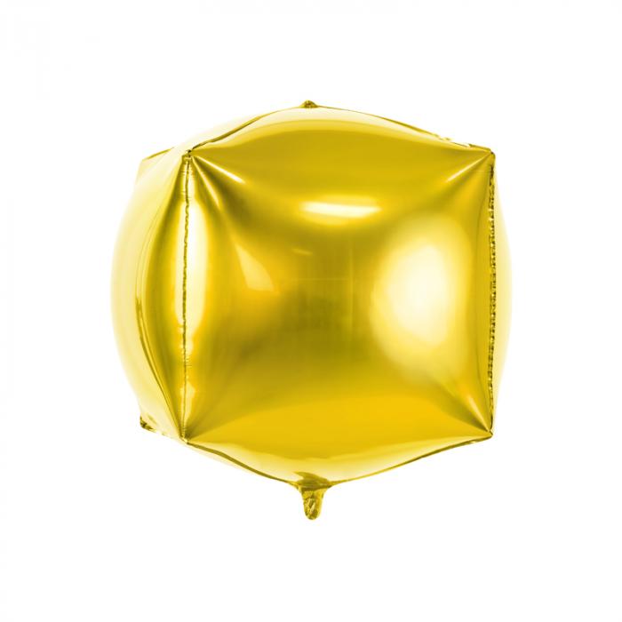 Balon Folie Cub, Auriu - 35 cm 0