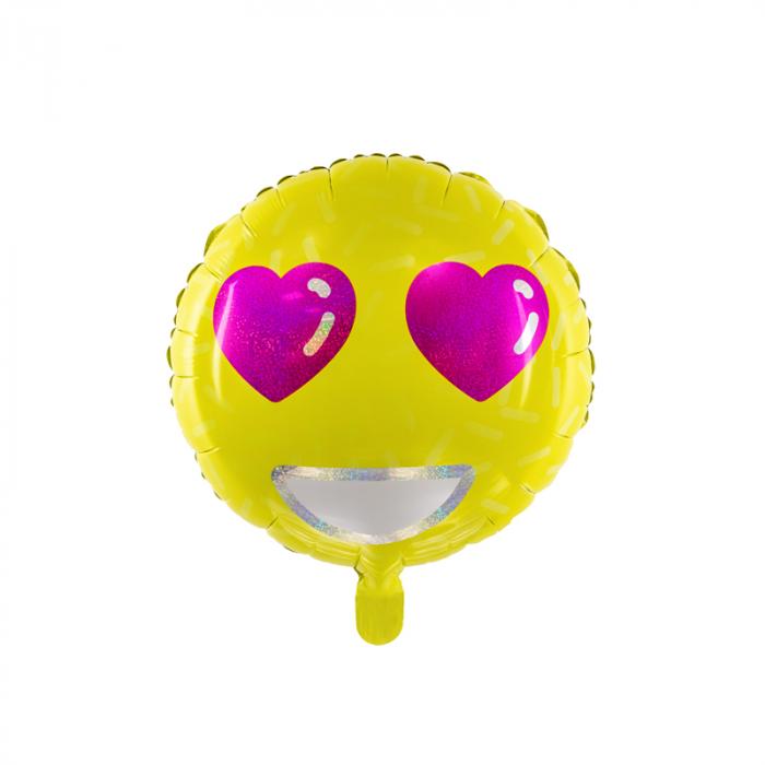 Balon Folie Emoji Love - 45 cm 0