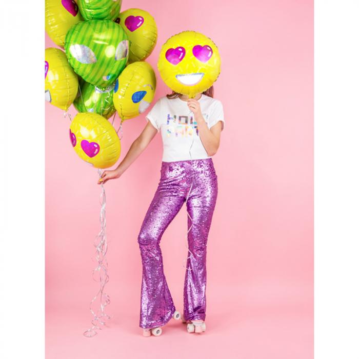 Balon Folie Emoji Love - 45 cm 2