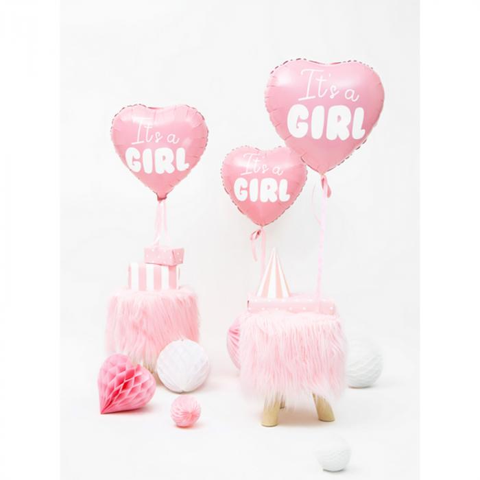 Balon Folie Inima, It's a Girl - 45 cm [2]