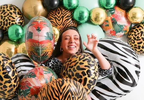 Balon Folie Jungla Tropicala - 46 cm [1]