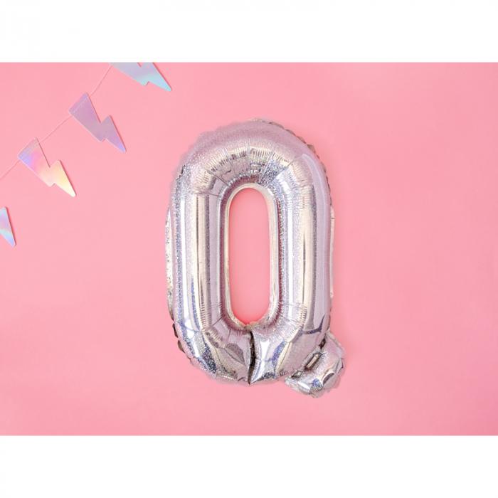 Balon Folie Litera Q Holografic, 35 cm 1