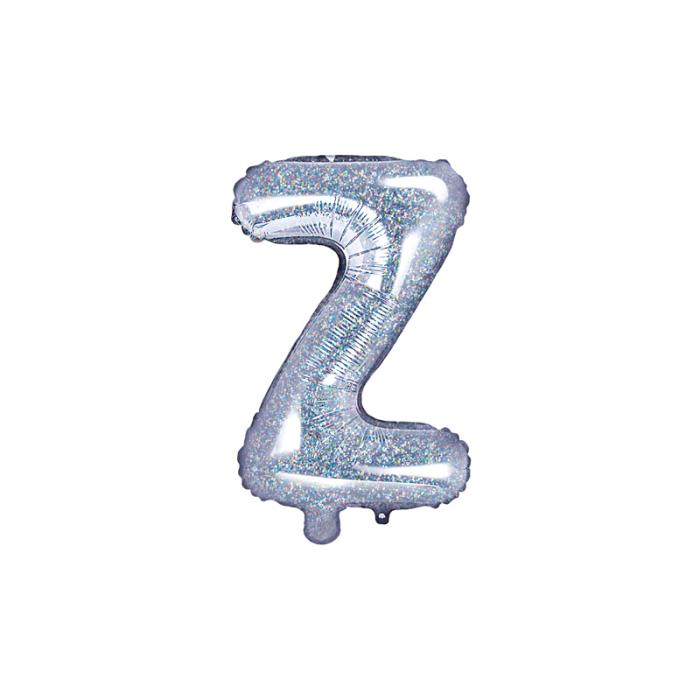 Balon Folie Litera Z Holografic, 35 cm 0