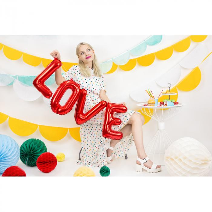 Balon Folie Love, Rosu - 140x35 cm [2]