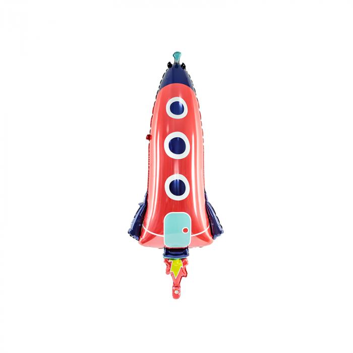 Balon Folie Racheta Spatiala - 44x115 cm 0