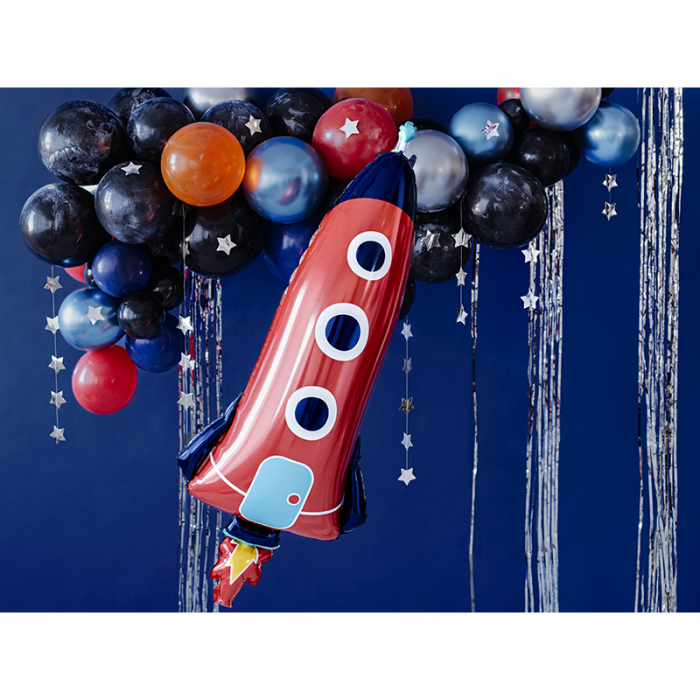 Balon Folie Racheta Spatiala - 44x115 cm 1