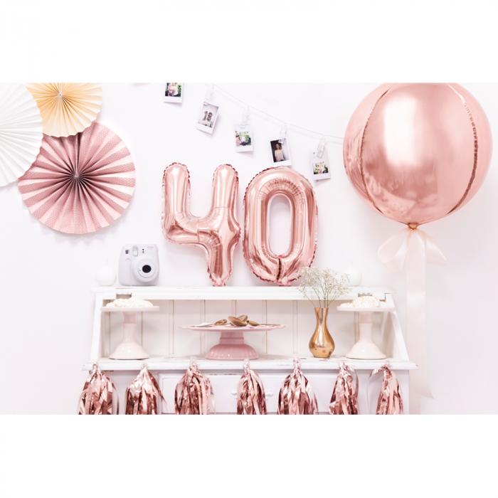 Balon Folie Rose Gold - 40 cm 3
