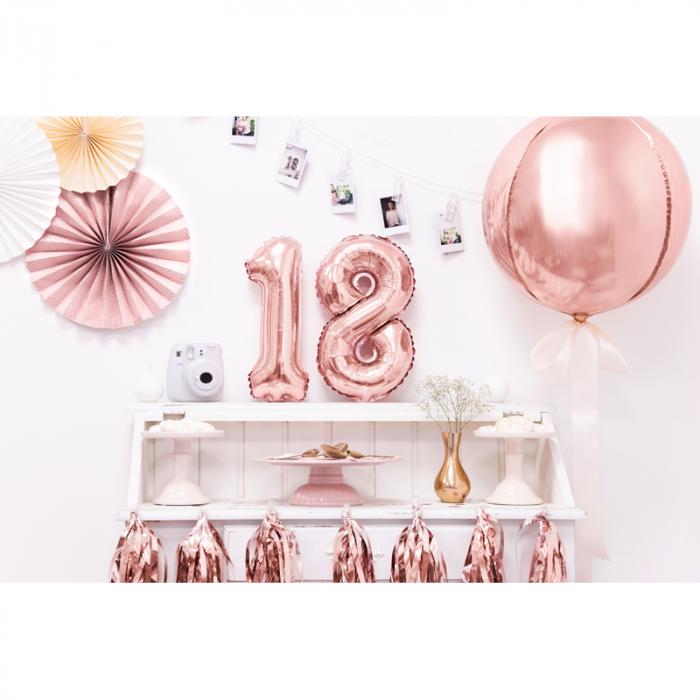 Balon Folie Rose Gold - 40 cm 2