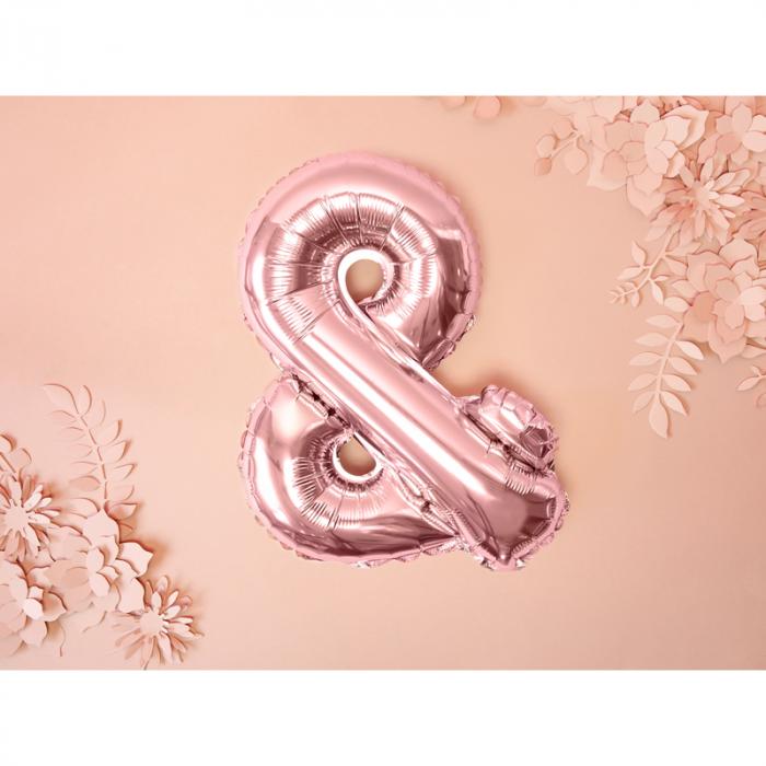 Balon Folie & Roz, 35 cm 1