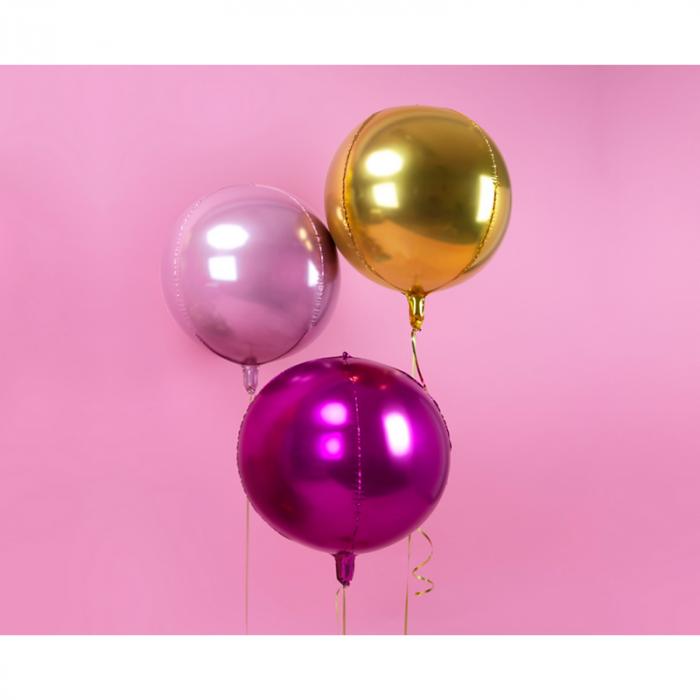 Balon Folie Sfera, Auriu - 40 cm [2]
