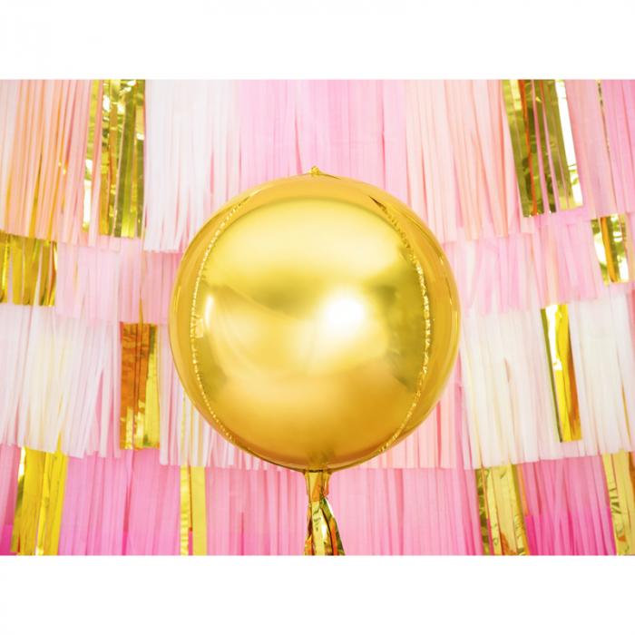 Balon Folie Sfera, Auriu - 40 cm [1]