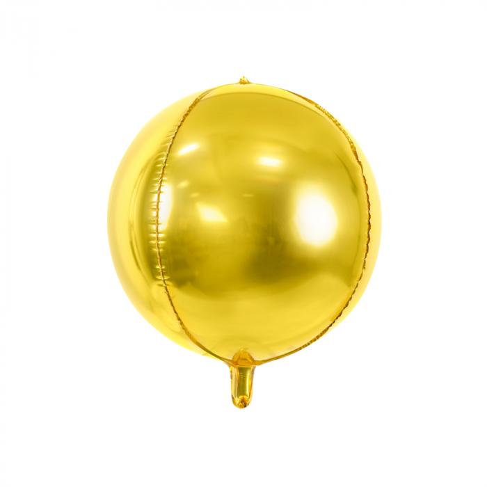 Balon Folie Sfera, Auriu - 40 cm [0]