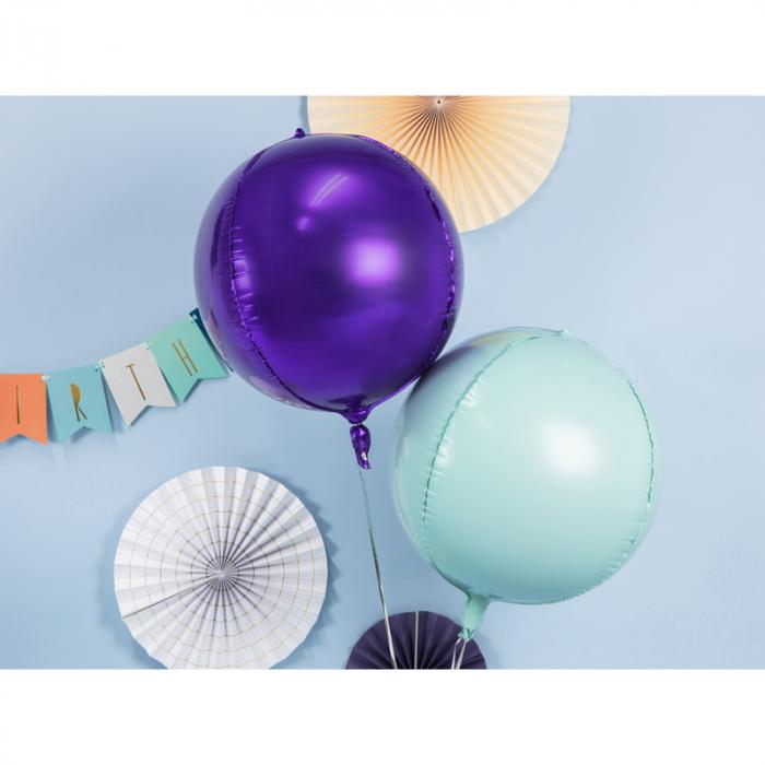 Balon Folie Sfera, Verde Menta - 40 cm [2]