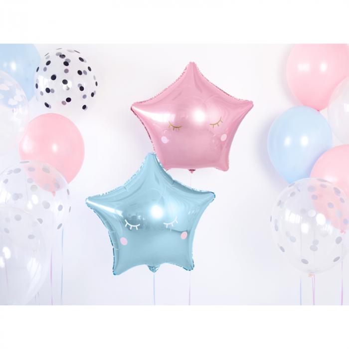 Balon Folie Stea, Albastru - 48 cm [1]