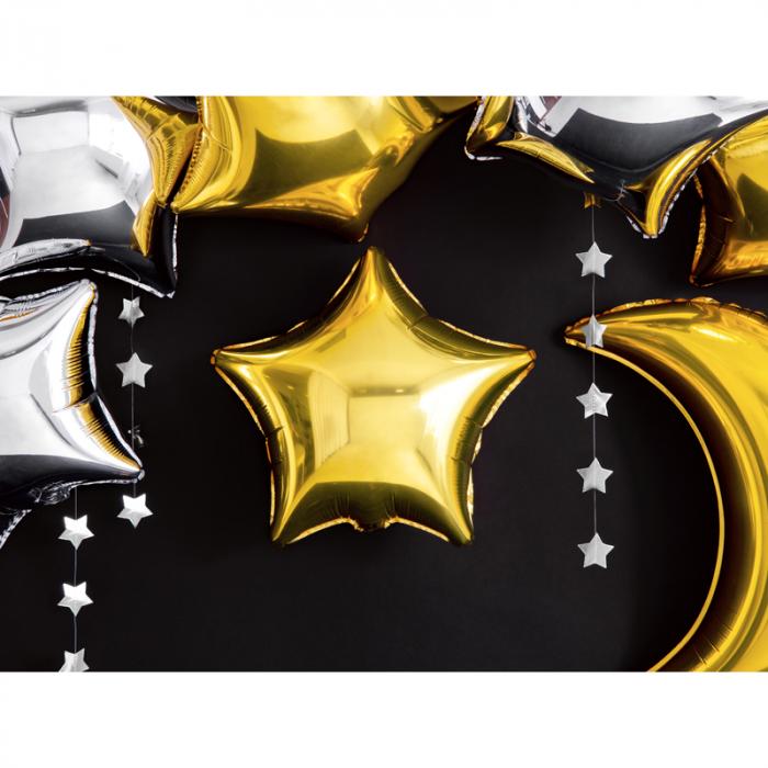 Balon Folie Stea, Auriu - 48 cm 5