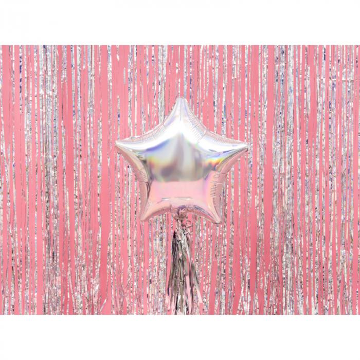 Balon Folie Stea, Iridescent - 48 cm 1