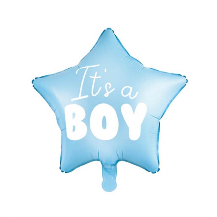 Balon Folie Stea, It's a Boy - 48 cm 4