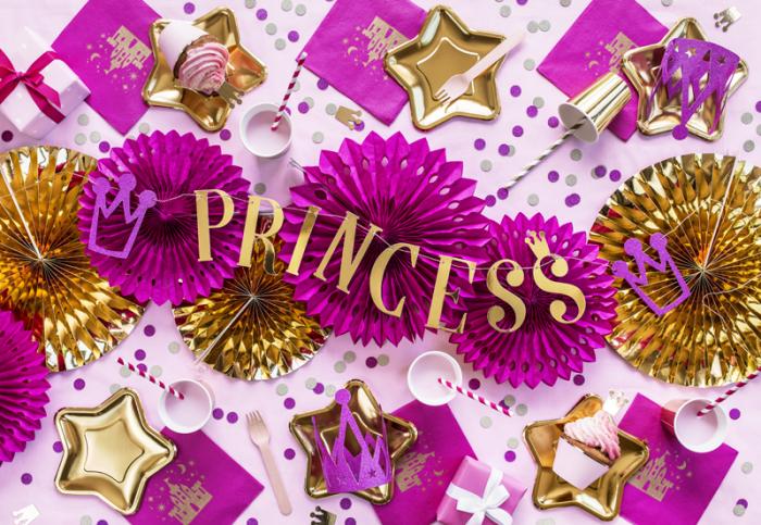 Banner Princess, auriu 2