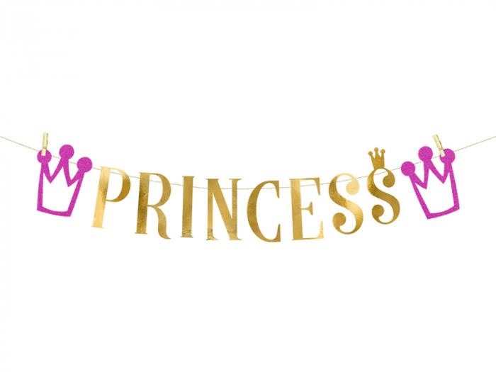 Banner Princess, auriu 0
