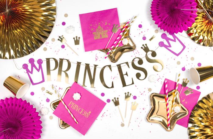 Banner Princess, auriu 1