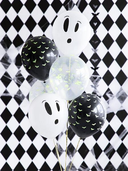 Set 3 Baloane Halloween Fosforescente - 27 cm [1]