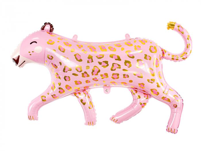 Balon Folie Leopard Roz  - 103 cm [0]