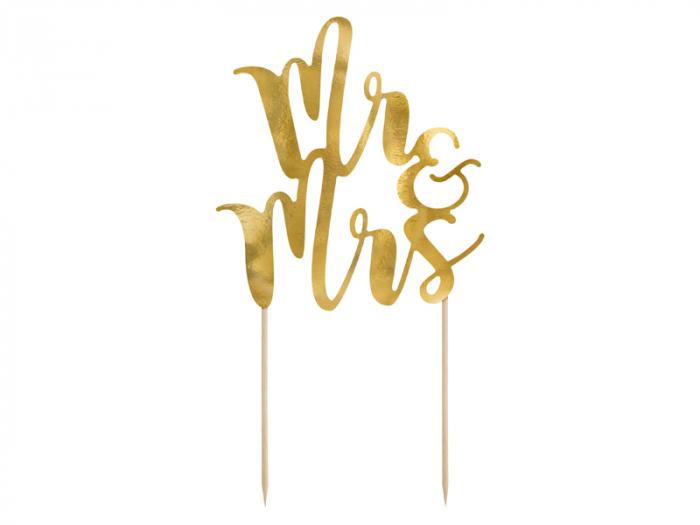 Decoratiune Prajitura Mr&Mrs [0]