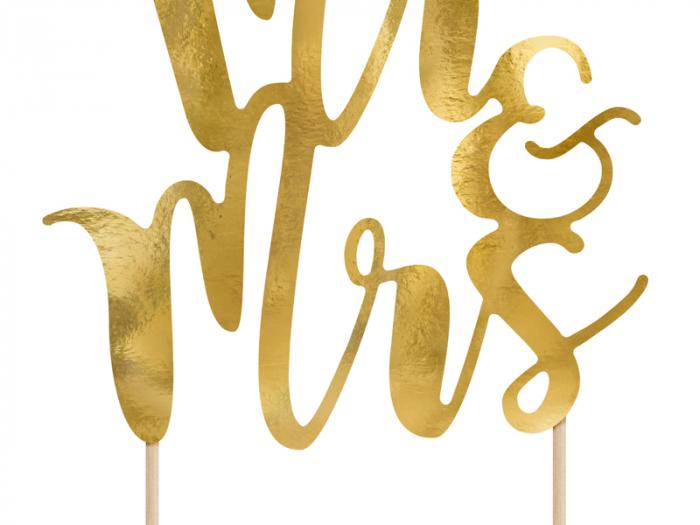 Decoratiune Prajitura Mr&Mrs [1]