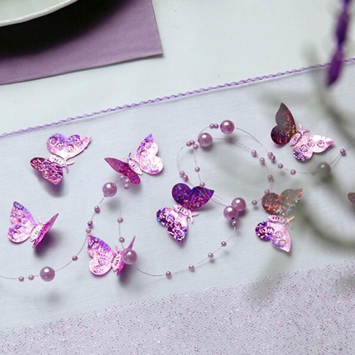 Confetti holografice, fluturi [2]
