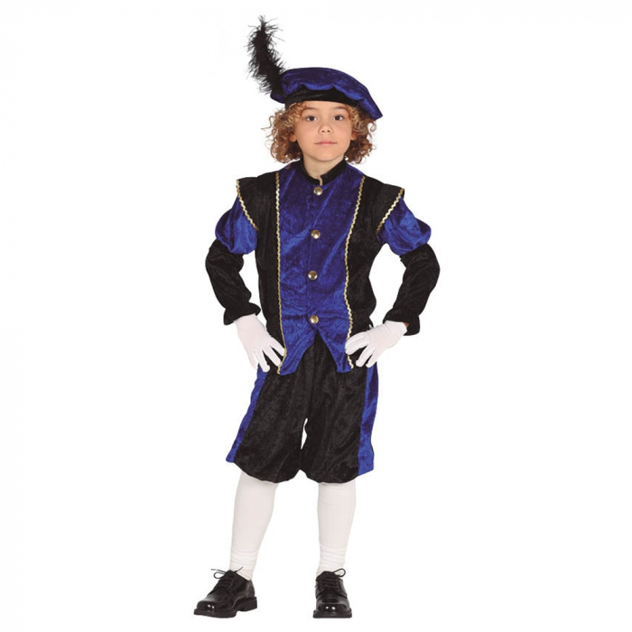 Costum Albastru Cavaler 5 - 6 ani [0]