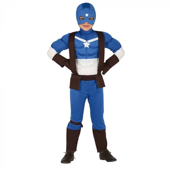 Costum Captain Marvel 5 - 6 ani [0]